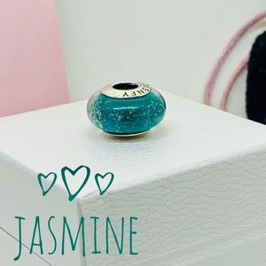 PANDORA Disney Collection Jasmine Murano Glow Bead